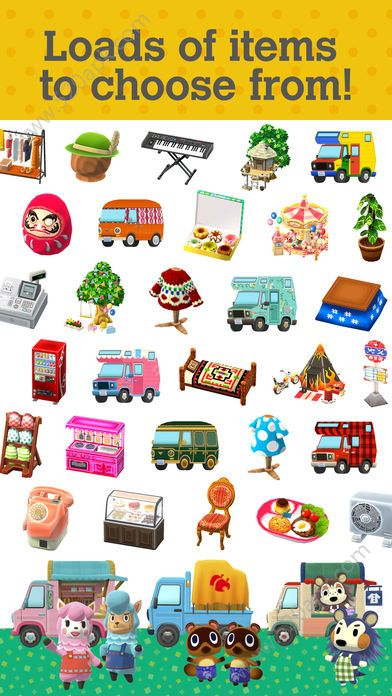 动物之森口袋露营手机必赢亚洲56.net官方必赢亚洲56.net手机版版图1: