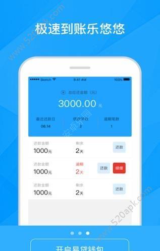 易贷钱包官方最新版app下载图3: