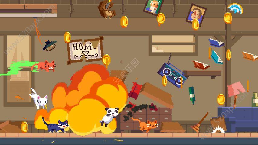 疯狂破坏猫游戏安卓版(Crashy Cats)图4:
