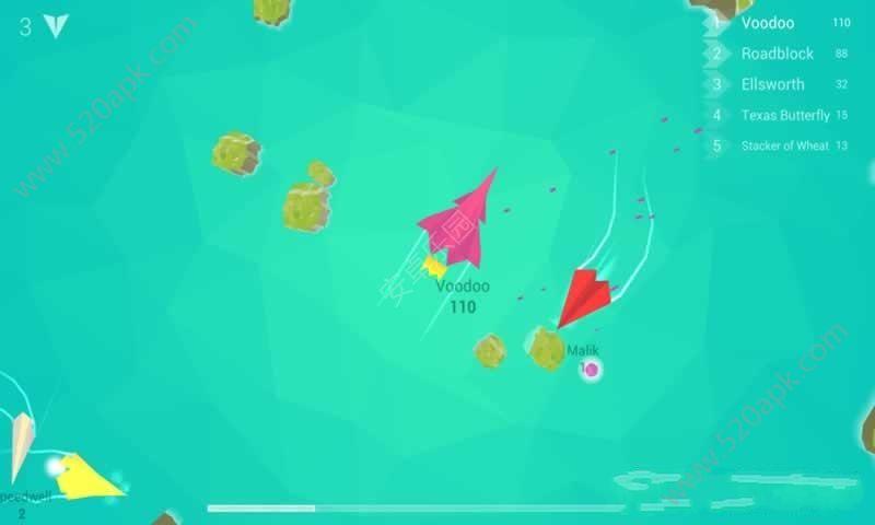 纸飞机大作战必赢亚洲56.net必赢亚洲56.net手机版版(Planes.io)图1:
