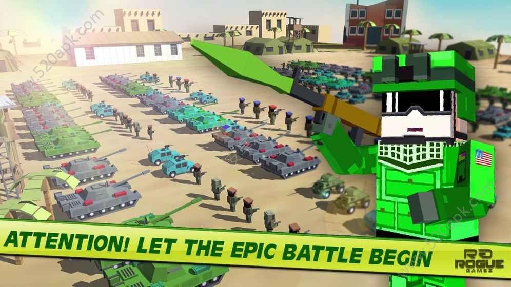 军事史诗般的战斗模拟器游戏安卓版图1: