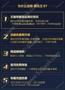 腾讯天王卡申请激活办理app手机版下载  v1.0图1