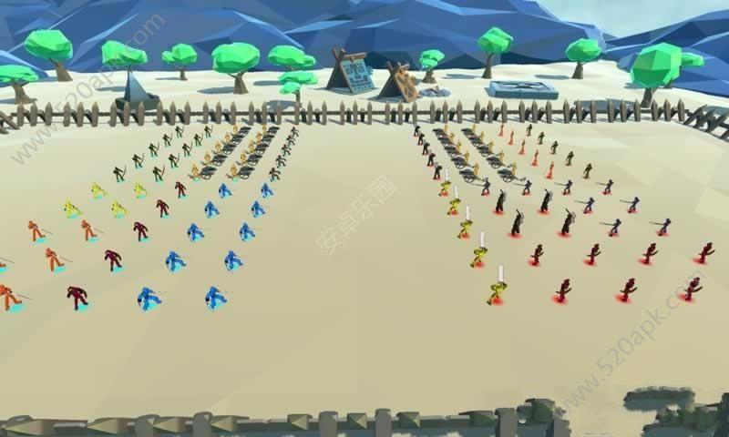 方块大战争游戏安卓版(Battle Simulation)图4: