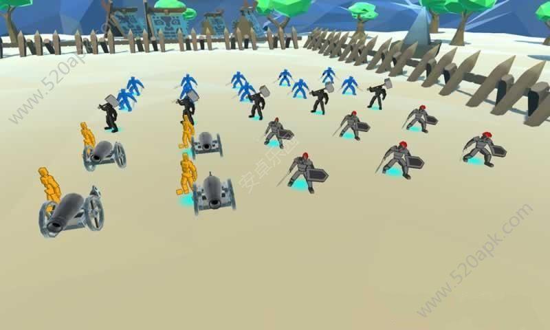 方块大战争游戏安卓版(Battle Simulation)图3: