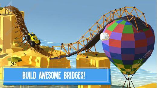 建桥专家无限金币内购中文破解版(Build a Bridge)图1: