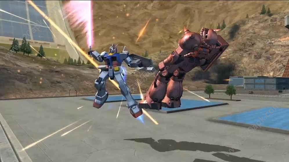 敢达争锋对决3D手游下载九游版图1: