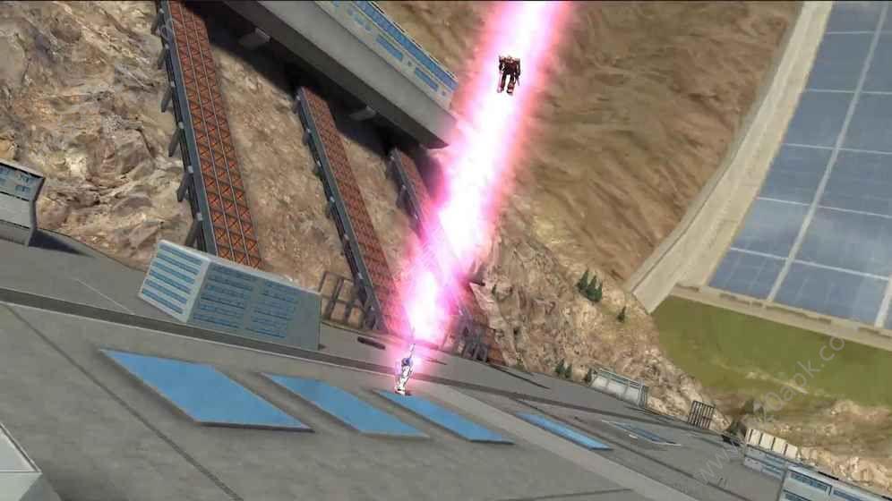 敢达争锋对决3D手游下载九游版图4: