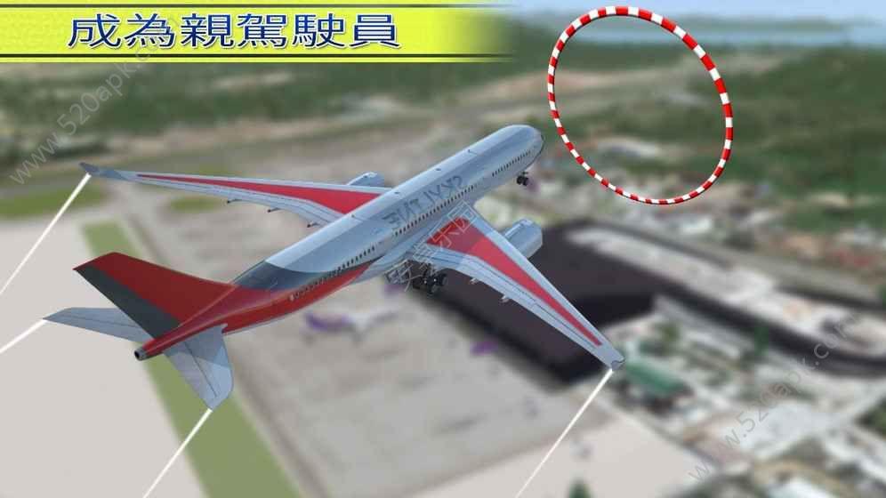 城市飞行模拟器飞机游戏安卓版(city airplane pilot flight 3d) v1.
