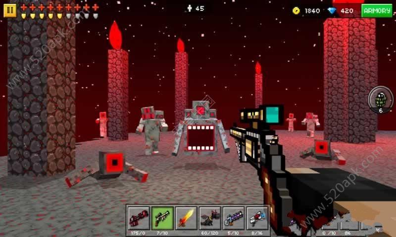 3D像素射击对战版破解版图2