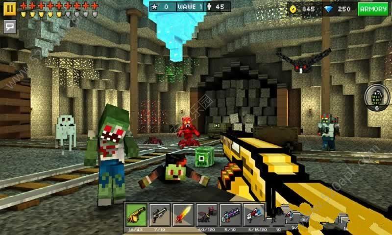 3D像素射击15.1.2官方更新版本下载(Pixel Gun 3D含数据包)图片1