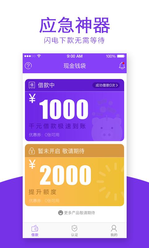 现金钱袋app官方手机版下载  v1.0.1图1