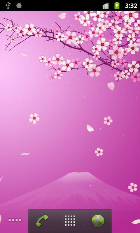 唯美浪漫樱花动态壁纸图1: