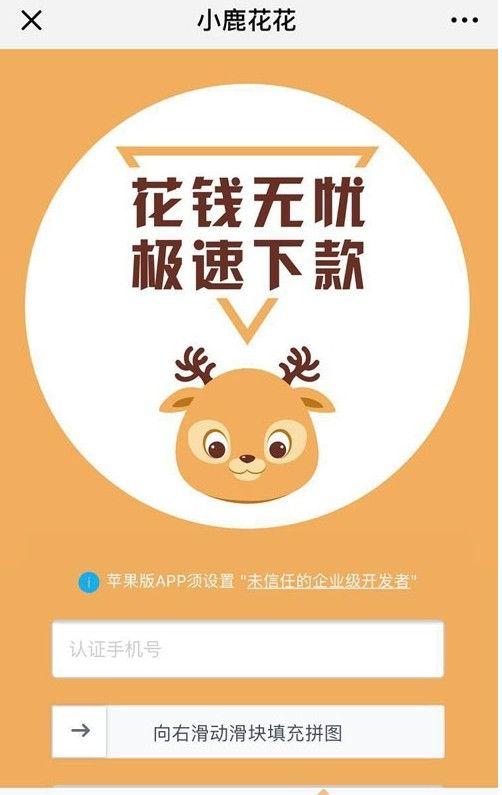 小鹿花花贷款app手机版下载图片1