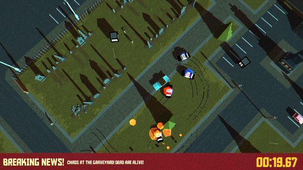 抖音无尽的停车场逃生中文汉化无限金币内购修改版(pako car chase simulat)图2: