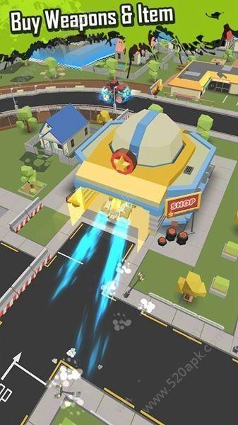 怪物卡车大作战必赢亚洲56.net必赢亚洲56.net手机版官方版(Monster Truck io)  v1.0.6图3