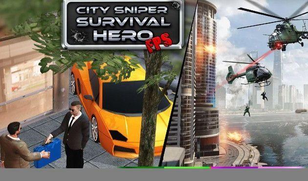 城市猎人狙击武器全解锁中文汉化无限金币内购修改版图片1
