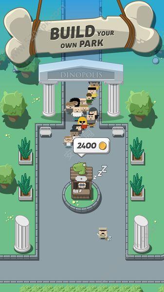 疯狂恐龙公园中文无限金币修改破解版(Crazy Dino Park)图2:
