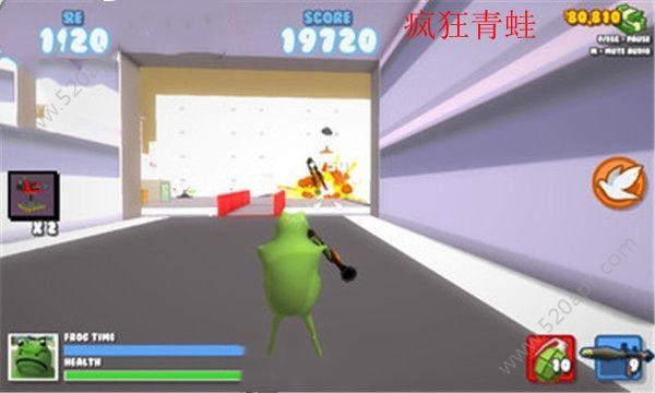 疯狂青蛙模拟器无敌版中文汉化无限金币内购修改版  v1.0图2