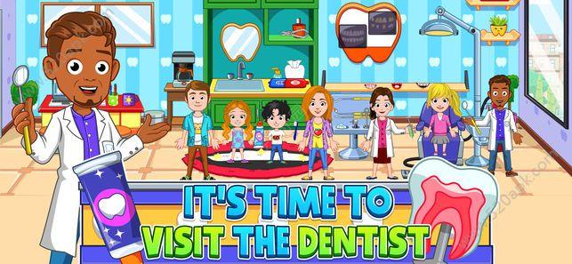 我的城市牙医中文汉化无限金币内购修改版(My City : Dentist Visit)图1: