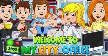 我的城市办公室中文无限金币内购修改版(My City Office)图片1