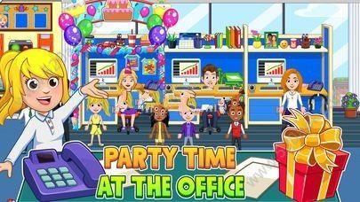 我的城市办公室中文无限金币内购修改版(My City Office)图2: