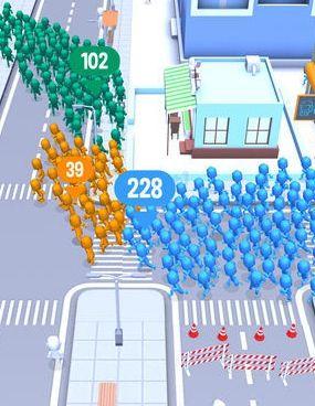 抖音人群大作战中文内购最新修改版(Crowd City)图片1