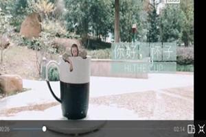 抖音跳进水杯的视频是怎么制作?跳进水杯特效视频制作方法介绍[多图]