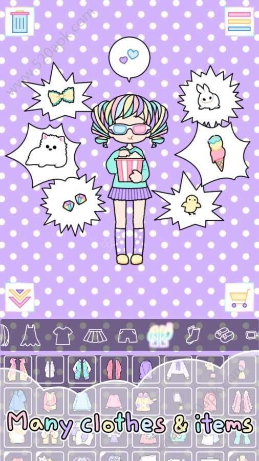 粉彩女孩必赢亚洲56.net必赢亚洲56.net手机版版(pastel girl)图5: