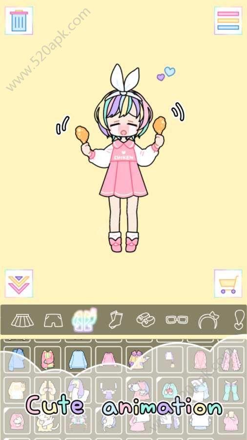 粉彩女孩必赢亚洲56.net必赢亚洲56.net手机版版(pastel girl)图4: