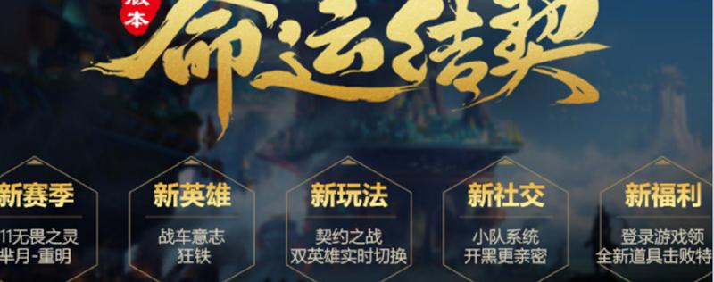 王者荣耀4月20日命运契约新版本震撼曝光,新角色狂铁上线,六大内容抢先看[多图]