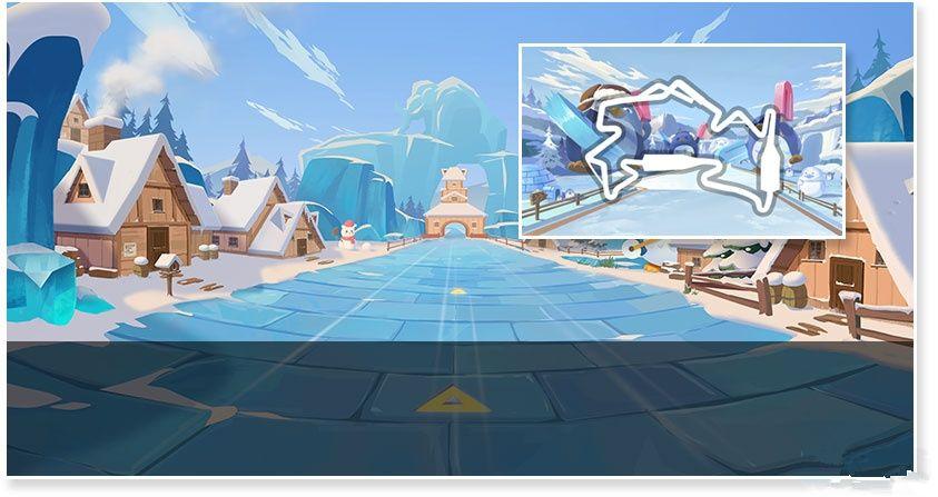 QQ飞车56net必赢客户端冰雪企鹅岛怎么跑?冰雪企鹅岛捷径跑法攻略[多图]