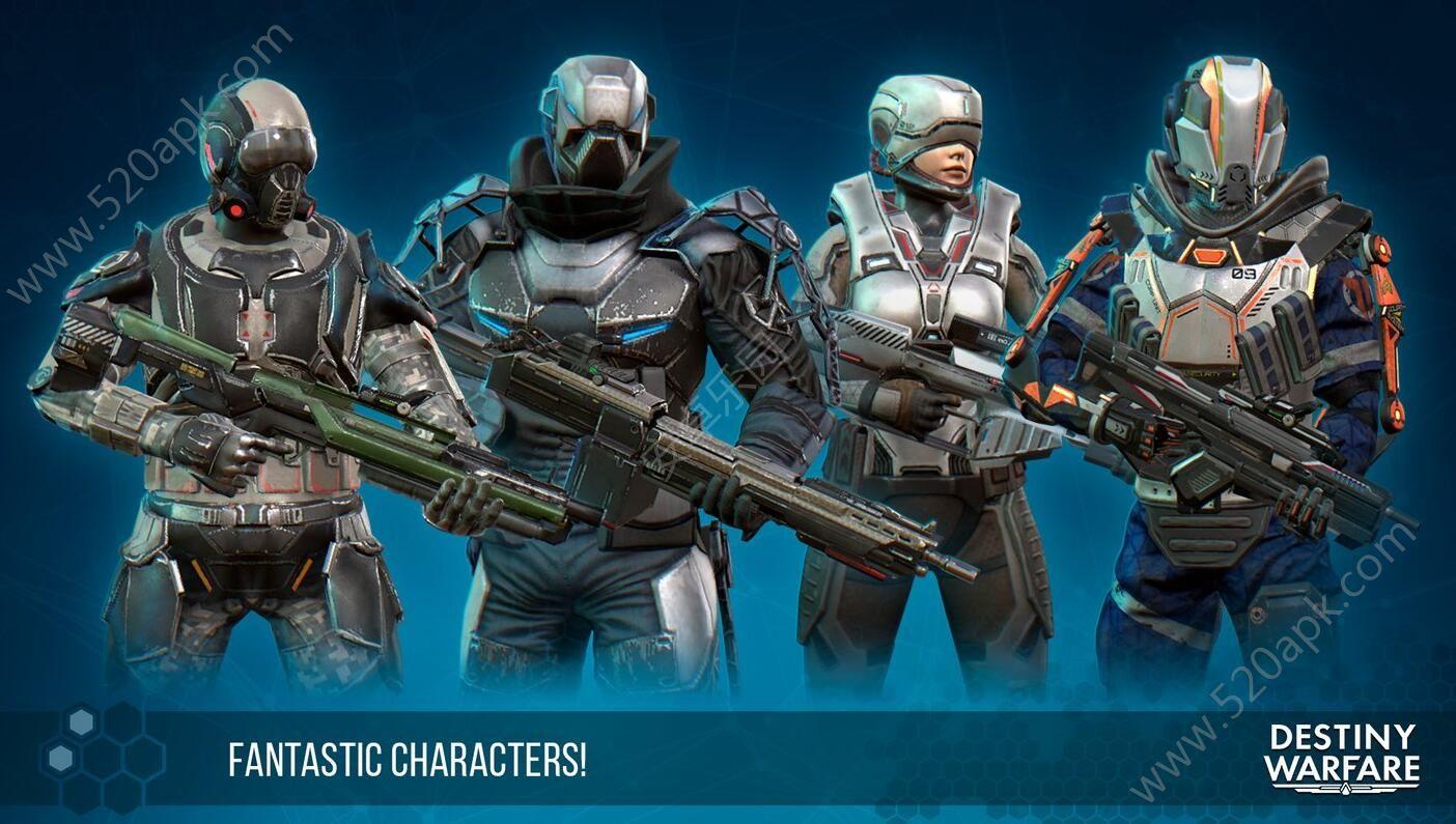 命运之战destiny warfare游戏官网下载手机安卓版(含数据包)图1: