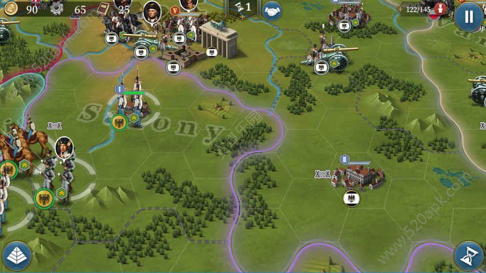 欧陆战争61804安卓版游戏官方下载图4:
