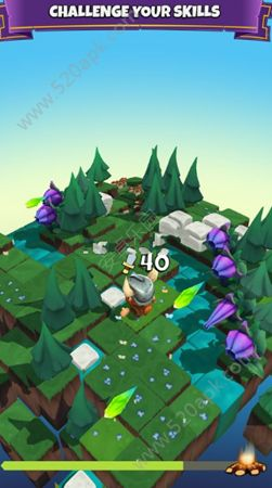 块状骑士无限金币内购修改版(Blocky Knight)图1:
