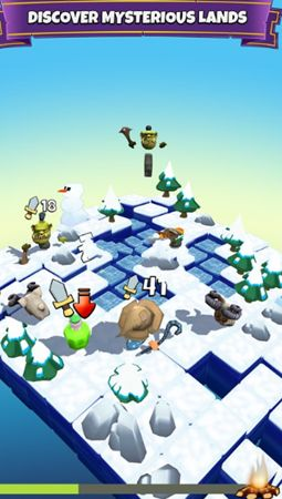块状骑士无限金币内购修改版(Blocky Knight)图片2