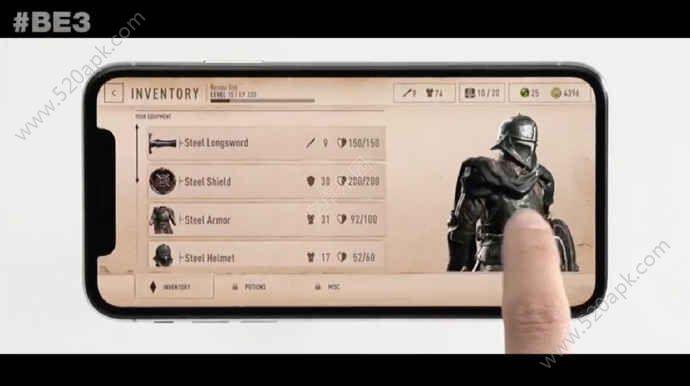 上古卷轴刀锋战士游戏官网安卓版  v1.0图1