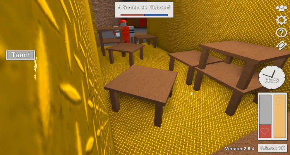 �诺滤菇馑�Roblox躲猫猫模拟器无限提示内购修改版图片2