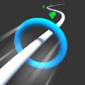 圆环突进中文无限金币内购修改版(Hoop Rush) v1.0