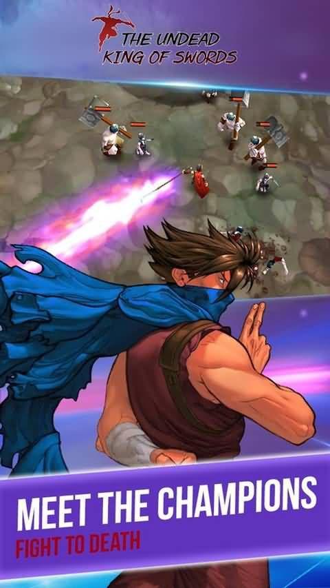 不死之剑的王无限体力内购修改版(The Undead King of Swords)图片1