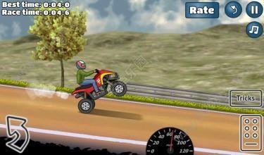 特技摩托挑战中文无限金币内购修改版(wheelie challenge)图3: