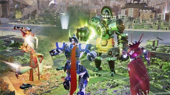 Override Mech City Brawl手机版游戏官方下载免费版图4: