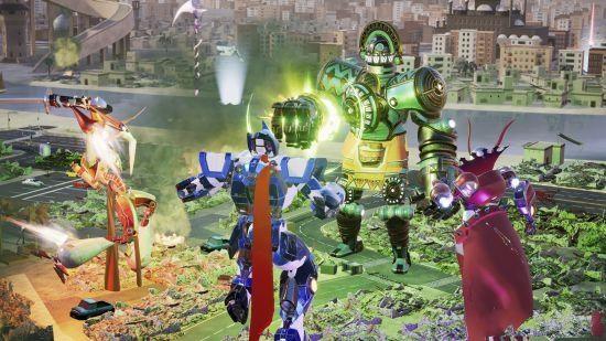 Override Mech City Brawl手机版游戏官方下载免费版图片1