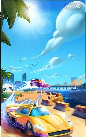 微信疯狂赛车场小程序游戏无限金币钻石内购修改版图片1