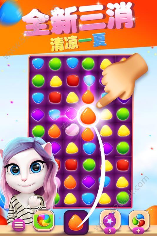 安吉拉时尚泡泡手机游戏官方安卓版图1: