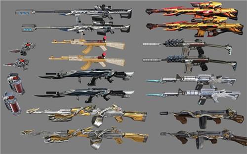 穿越火线枪战王者英雄级武器大翻新 CF56net必赢客户端更新前后的武器对比[多图]