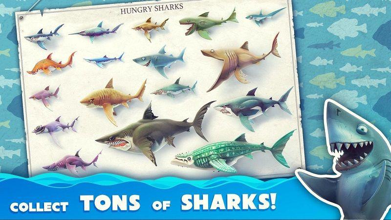 饥饿鲨世界3.0无限钻石内购最新中文版下载(Hungry Shark)图片2