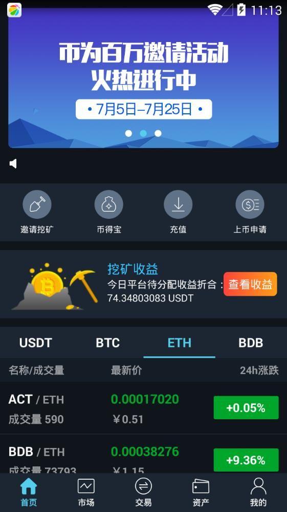 Btcdo币为交易所平台app官方版图片1