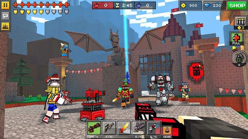 3D像素射击15.1.2官方更新版本下载(Pixel Gun 3D含数据包)图片2