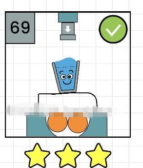 快乐玻璃杯第69关怎么过?Happy Glass第69关图文攻略[图]