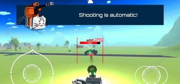 战争机器战车大混战游戏最新安卓版  v1.0图1